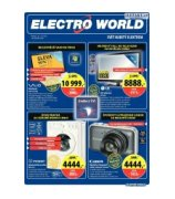 Electro World slevy