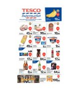 Tesco supermarkety od 5.8.2015